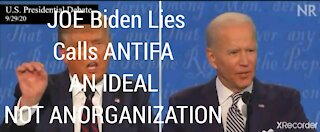 BIDEN'S IDEAL ANTIFA