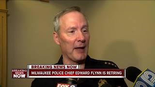 Milwaukee Police Chief Ed Flynn retires after 10 years - Video