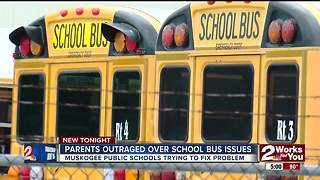 Children denied access to buses in Muskogee School District - Video