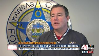 KCPD working to prevent officer suicides