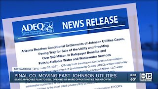 Pinal County moving past Johnson Utilities