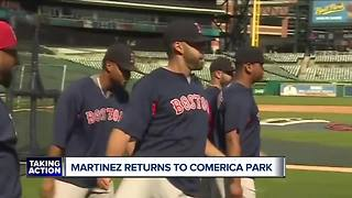 JD Martinez reflects back on time with Tigers - Video