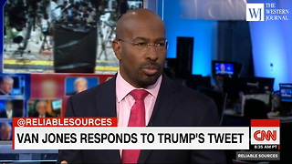 CNN Host Van Jones Thinks US Would Be 'A Lot Better Off' If Trump Acted More Like Rapper Jay-Z (C) - Video