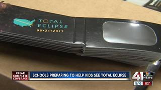 Schools prepare to help kids see total eclipse - Video
