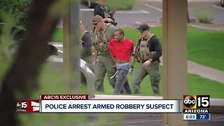 Police arrest armed robbery suspect in Ahwatukee - Video