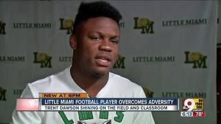 Little Miami RB Trent Dawson is a story of perseverance