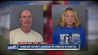 IDHS employee & wife charged with stealing money from volunteer fire department - Video