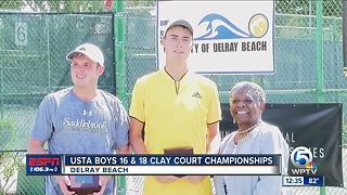 USTA Clay Court Championships - Video