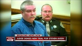 Denied: Judge dismisses Steven Avery's appeal for new trial - Video