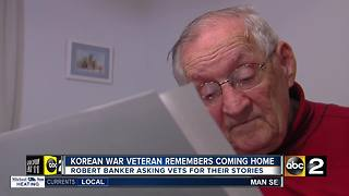 Korean War veteran tells the story of coming home - Video