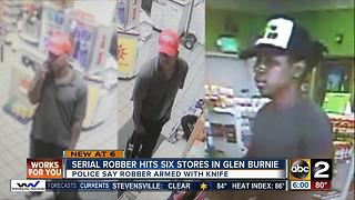 Glen Burnie gas station robber wanted - Video