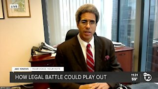 Legal analyst speaks on potential legal battle over presidential election