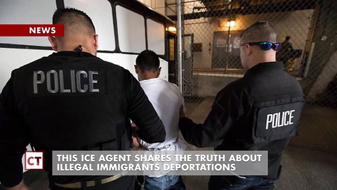 ICE Agent Says They Are Targeting Criminal Aliens, Not Hard-working Ones