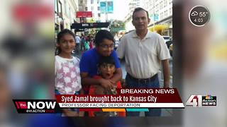 Attorney: Syed Jamal back in KC Wednesday - Video