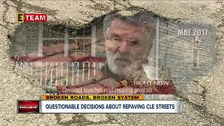 Questionable decisions about repaving Cleveland streets - Video