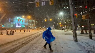 Toronto's Surprise Blizzard Last Night Was So Beautiful