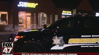 Subway robbed Wednesday night in Delta Township