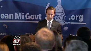 Michigan Lt. Governor Calley seeks promotion to top job - Video