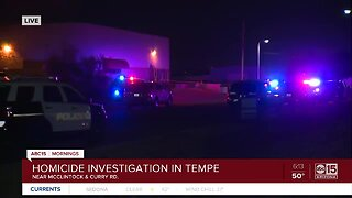 Homicide investigation in Tempe