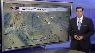 Four roads to avoid this weekend in Valley - Video