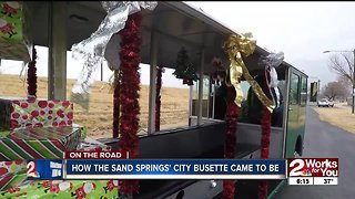 How Sand Springs' city busette came to be - Video