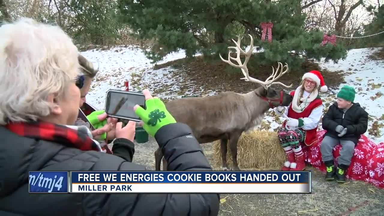 We Energies distributes annual cookie book at Miller Park