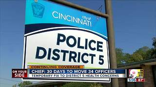 Police chief promises to move staff from D5 HQ - Video