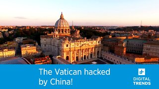 The Vatican hacked by China!
