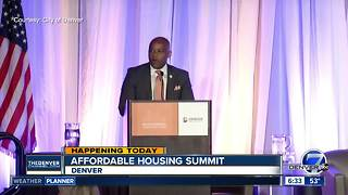 Denver summit to tackle affordable housing issue in Colorado - Video