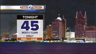 Chilly & dry tonight - Video
