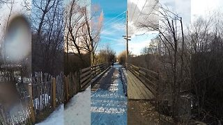 Runner Creates Amazing Hyperlapse of His Running Route Over the Course of a Year - Video