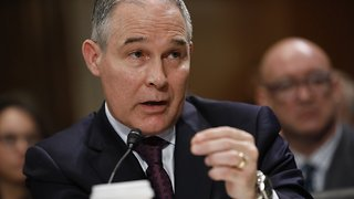 Trump Told EPA Chief Scott Pruitt 'We Have Your Back' - Video