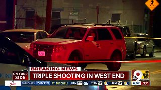 Three people shot overnight in the West End