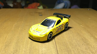 Awesome Hot Wheels Car Corvette C6.R (2006 Mainline Livery)