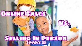 Channel Chat 41: Vlogust Day 2 Why Sell Online vs. In-person