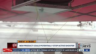 New product coming to Las Vegas to stop active shooters - Video