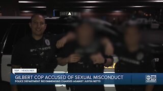 Gilbert cop accused of sexual misconduct