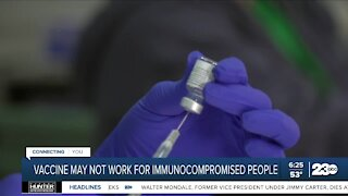 Compromised vaccine groups
