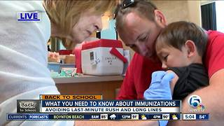 What parents should know about immunizations before school starts