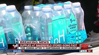 Major grocery stores in Kern County running low on water