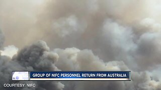 Group of NIFC wildfire personnel return from Australia