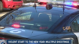Violent start to the New Year - Video