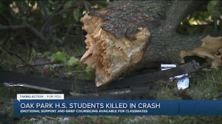 Oak Park High School students killed in crash