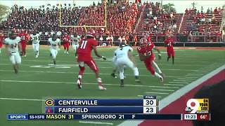 Football highlights: Centerville 30, Fairfield 23 - Video
