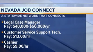 Nevada Job Connect listings for April 2 - Video
