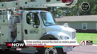 Many still without power 3 days after storms - Video