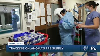 Tracking Oklahoma's PPE Supply