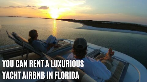 You Can Rent This Insane 60' Yacht Airbnb In Florida & It's Surprisingly Affordable