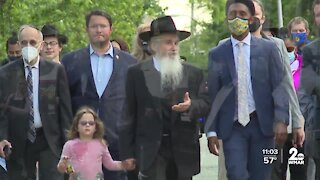 Walking to get one step closer to justice in murder of Israeli man in Baltimore