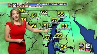 Maryland's Most Accurate Forecast - Nice Start to the Week - Video